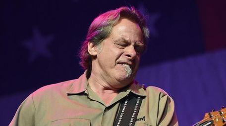 Hard rock musician Ted Nugent.
