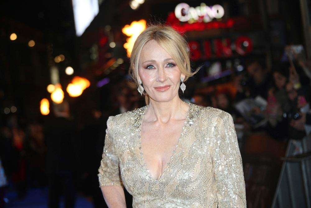 J.K. Rowling, author of the