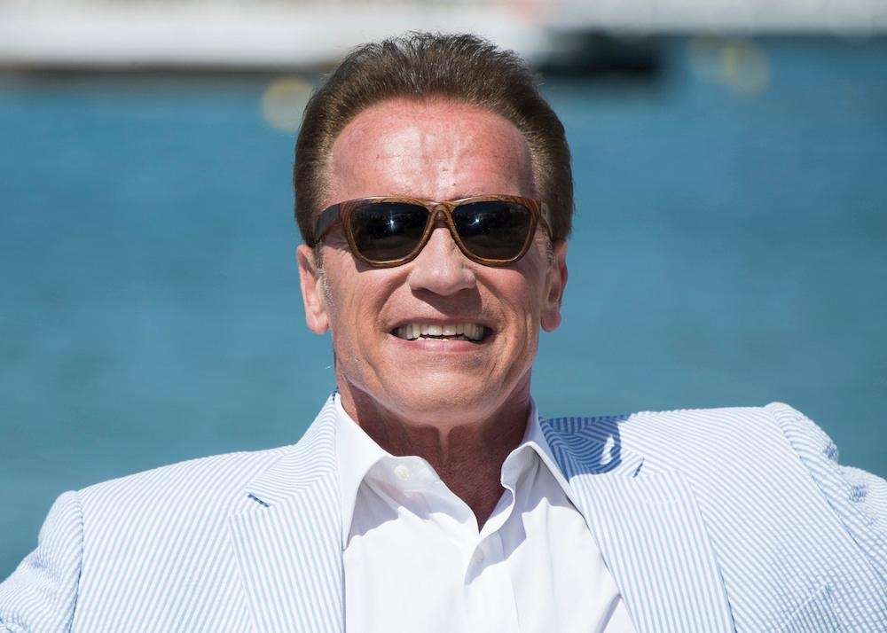 Actor Arnold Schwarzenegger, most notable for his roles