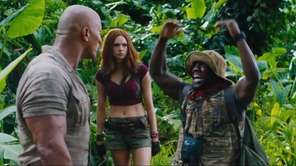 """Jumanji,"" a remake of the 1995 adventure movie"
