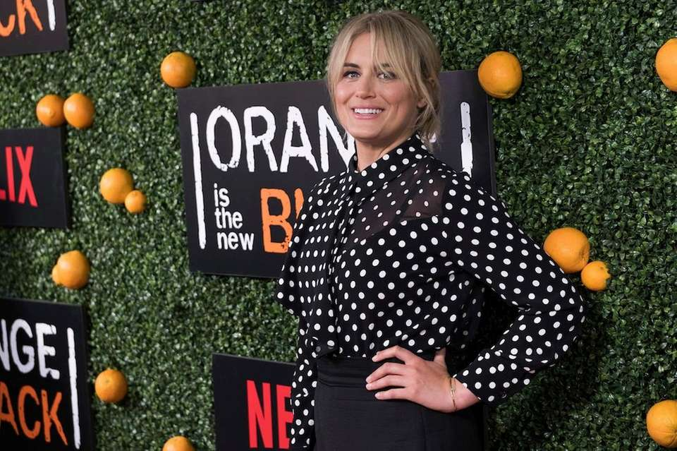 Taylor Schilling, best known for her role as