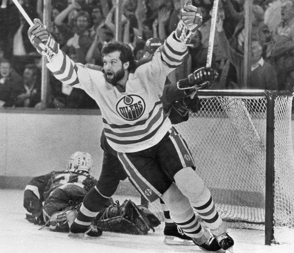 Former Edmonton Oilers tough guy Dave Semenko, who