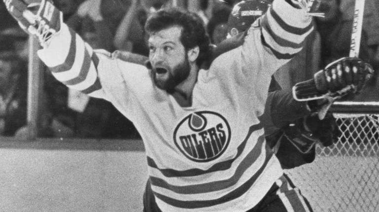 Former Edmonton Oilers tough guy Dave Semenko, who