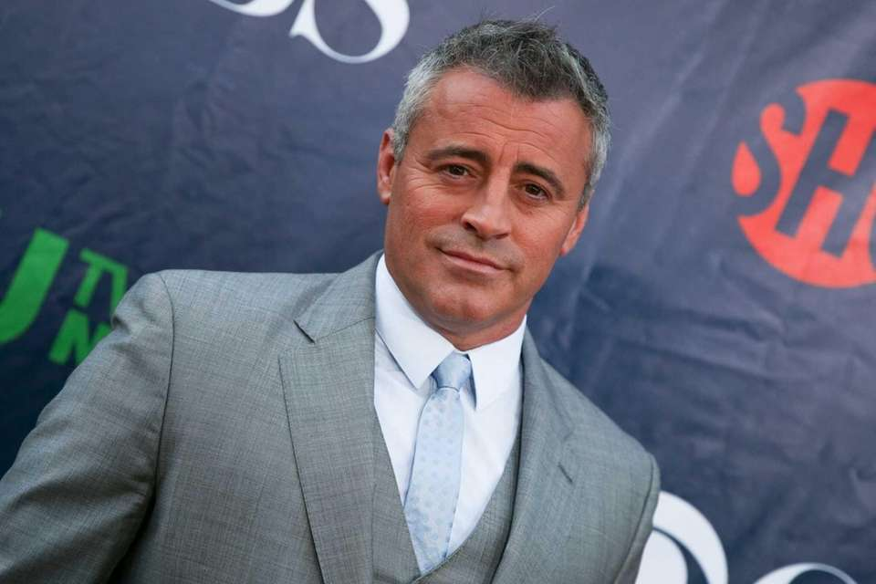 Actor Matt LeBlanc, best known for his role
