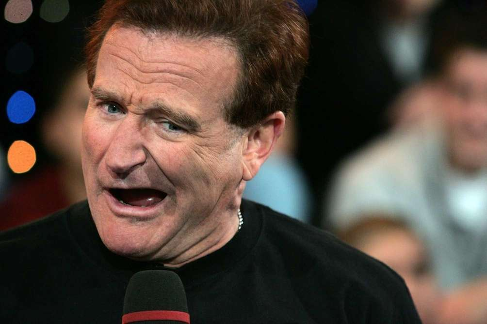 Comedian Robin Williams, who starred in films including