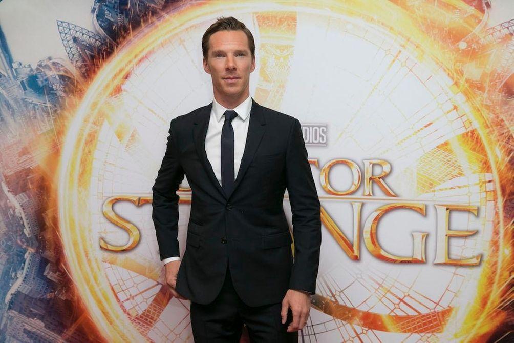 British actor Benedict Cumberbatch, notable for his lead