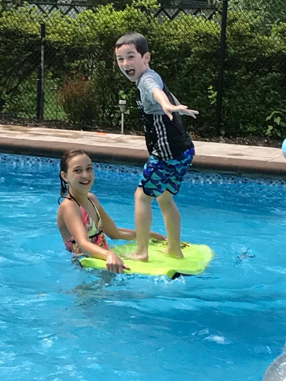 Andrew and Kaia Surfs Up