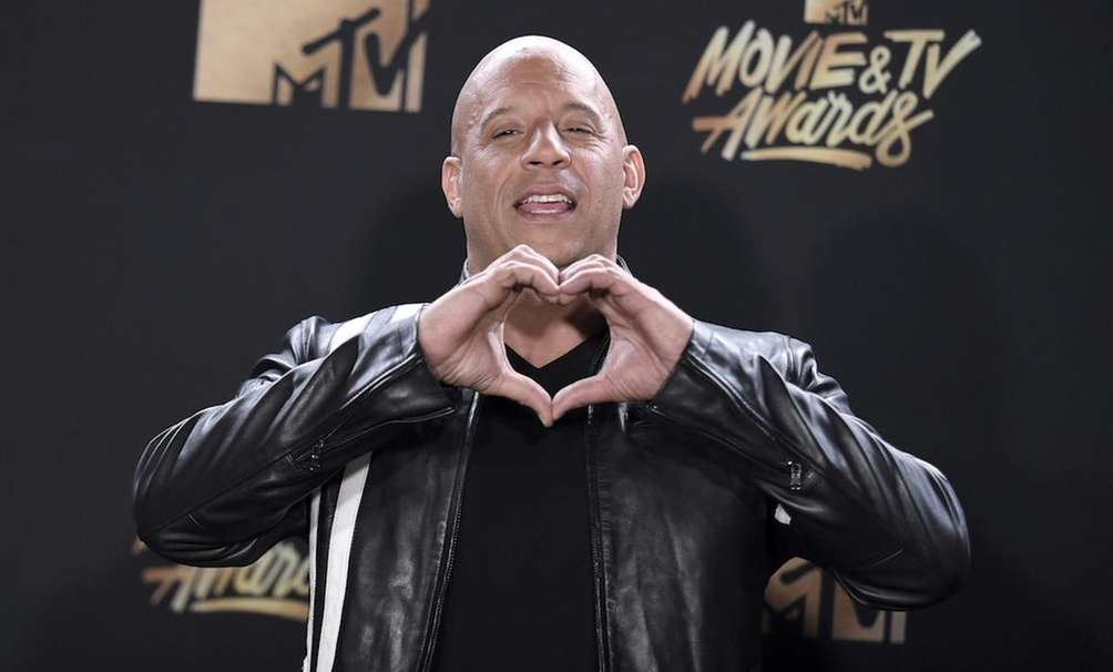 Actor Vin Diesel, who stars in the