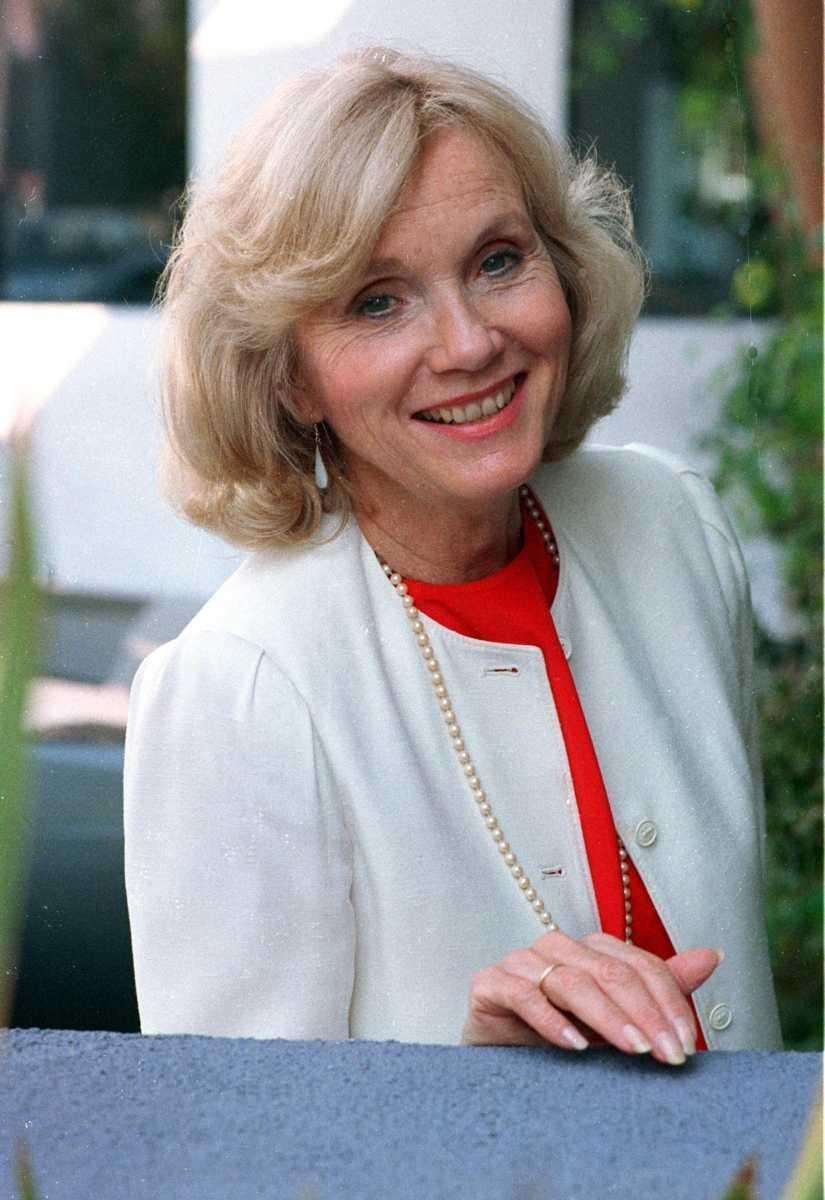 Eva Marie Saint, an Academy Award-winning actress who