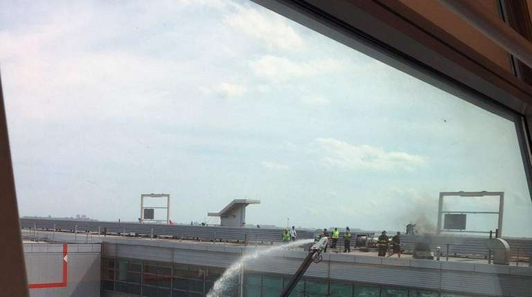 Part of JFK Terminal Evacuated After Fire Erupts