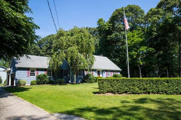 Rob and Nancie Albertson's Southold home is on