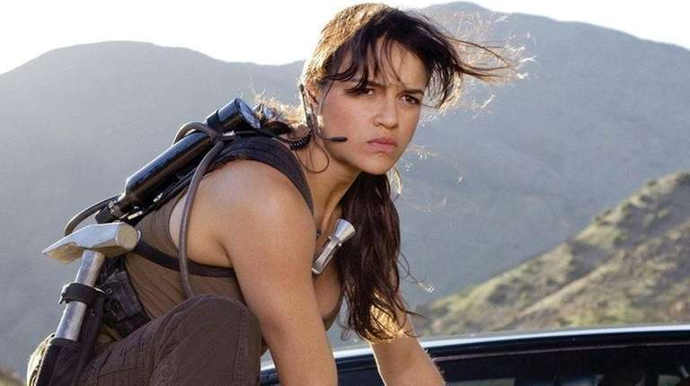 Michelle Rodriguez in 2009's