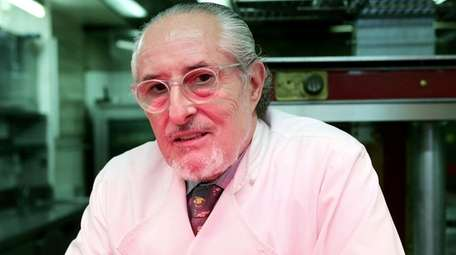 Michelin star chef Alain Senderens, above in the