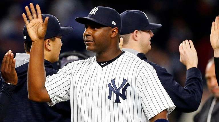 Chris Carter and Yankees after a win over
