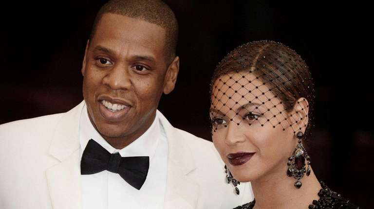 Jay-Z and Beyoncé at the Costume Institute Benefit