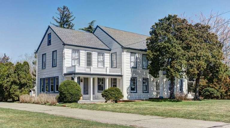 The 4,000-square-foot home, built around 1840, has five