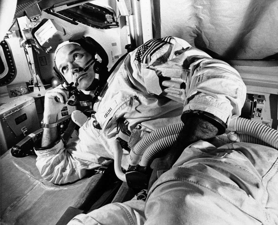 The Apollo 11 command module pilot astronaut Michael