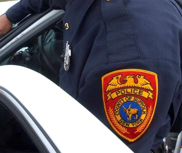 A Suffolk County police officer.