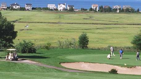 Town of Huntington's Crab Meadow course is seen
