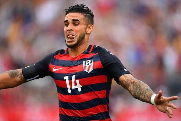 Dom Dwyer of the U.S. Men's National Team
