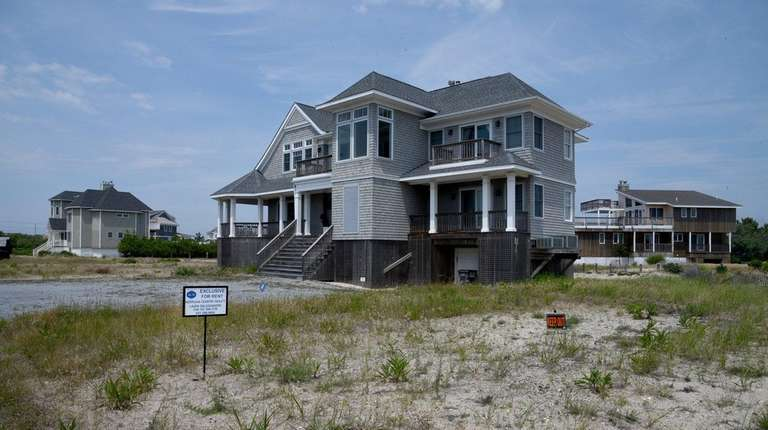 A West Hampton Dunes home that is available