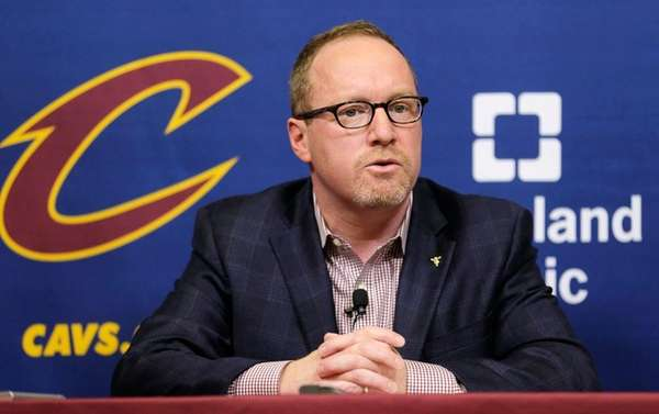 David Griffin spent three seasons as the