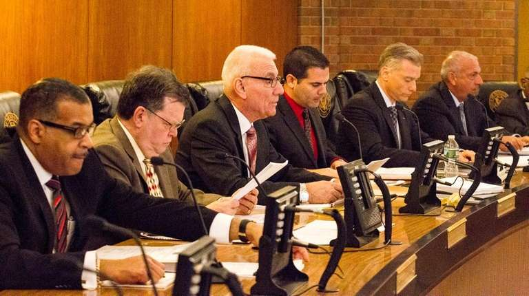 The Hempstead IDA board changed its rules on