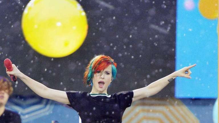 Hayley Williams of the band Paramore performs on