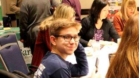 Daniel Panaro, 15, of Hauppauge, was diagnosed with