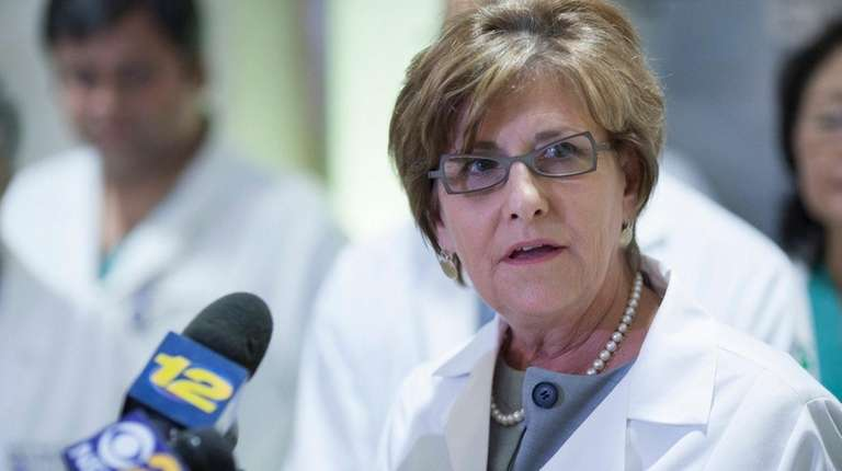 Chief nursing officer Patricia Cahill said at a