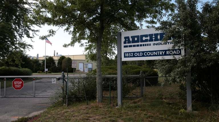 An Exterior view of Adchem Corp., a Riverhead