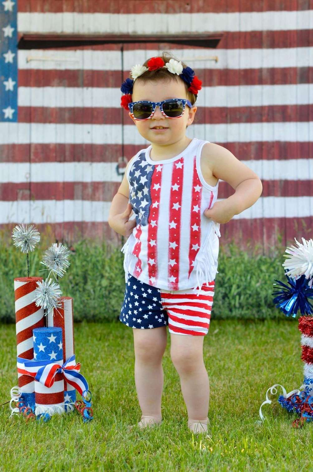 Coralynn is proud to be an American.