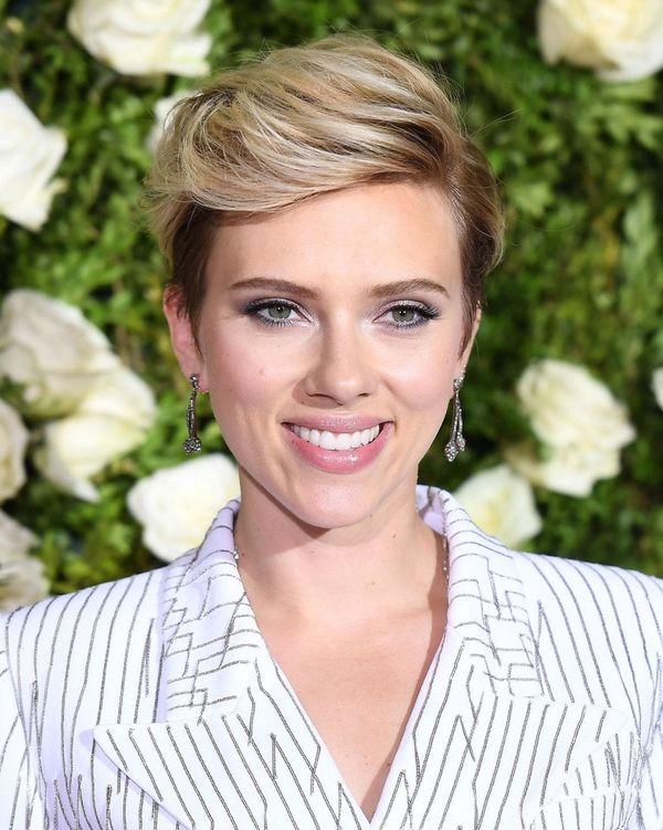 Scarlett Johansson at the Tony Awards at Radio