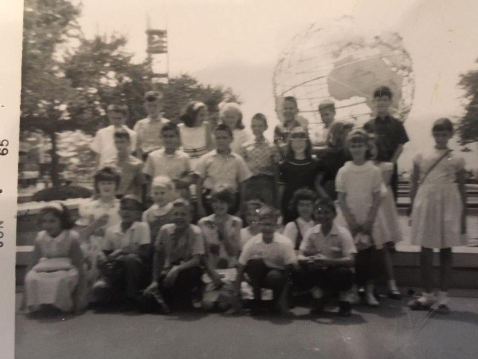 June1965 worlds fair class trip with 4th grade