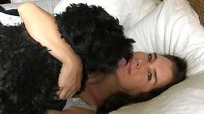 Brooke Shields frequently posts photos of her dog,