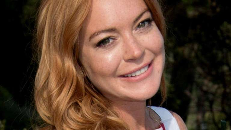 Lindsay Lohan at a Cannes Film Festival event