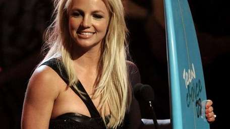 Britney Spears accepts the ultimate award at the