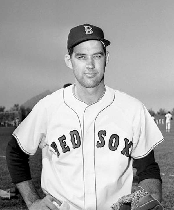 Gene Conley, above as a Red Sox in