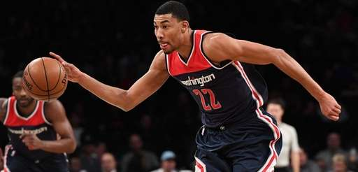 Wizards forward Otto Porter Jr. drives to the