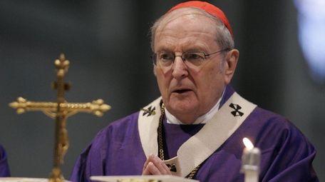 German Cardinal Joachim Meisner celebrates a mass in