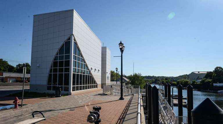 The Glen Cove Ferry Terminal at Garvies Point
