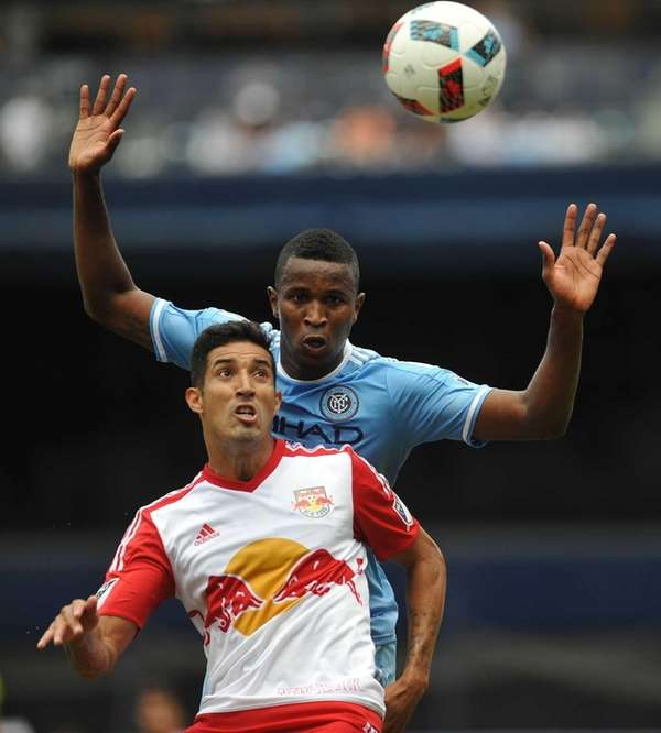 Gonzalo Veron #30 of New York Red Bulls,