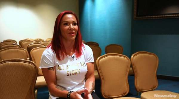 UFC featherweight Cris Cyborg Justino looks forward to
