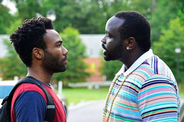 Donald Glover, left, and Brian Tyree Henry on