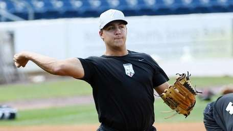 Greg Weissert of the Staten Island Yankees and
