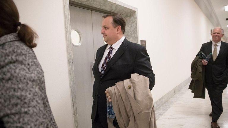 Walter Shaub, who is leaving his job as