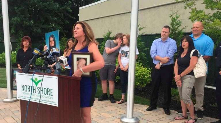 Tracey Farrell, whose son suffered a fatal overdose