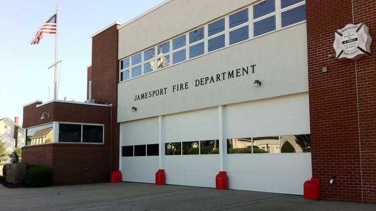 The Jamesport Fire Department's only station is located