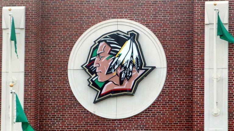 The University of North Dakota's Fighting Sioux logo