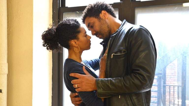 Kelly McCreary and Edward O'Blenis in